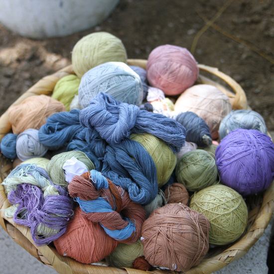 Guatemala natural dye