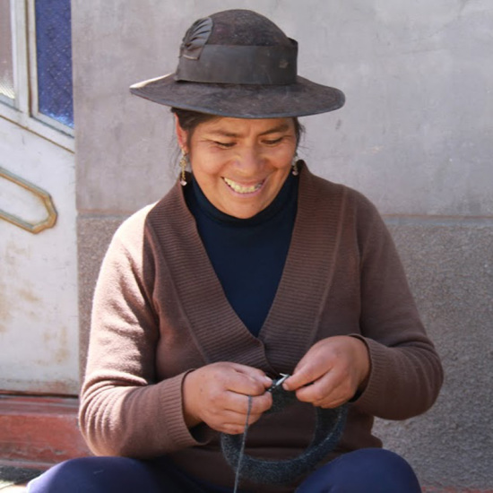Peru hand knitting