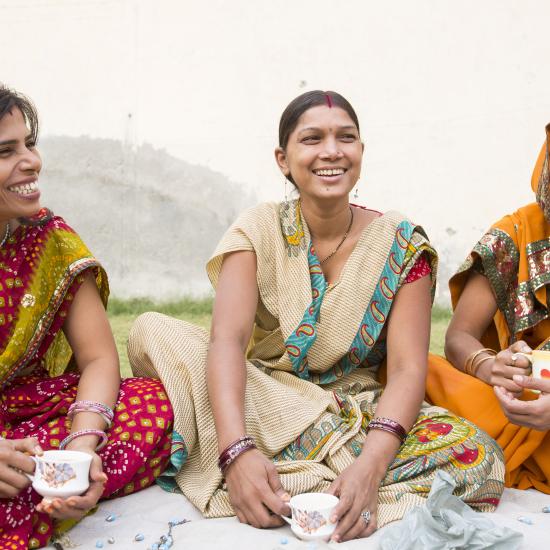 Tea time with Suman, Reena and Meera