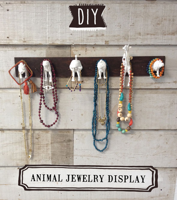 Diy Animal Jewelry Holder Flourish By Noonday Collection