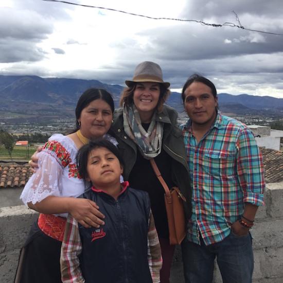 Noonday in Ecuador