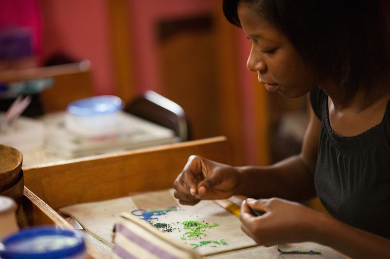 Rachelle in Haiti