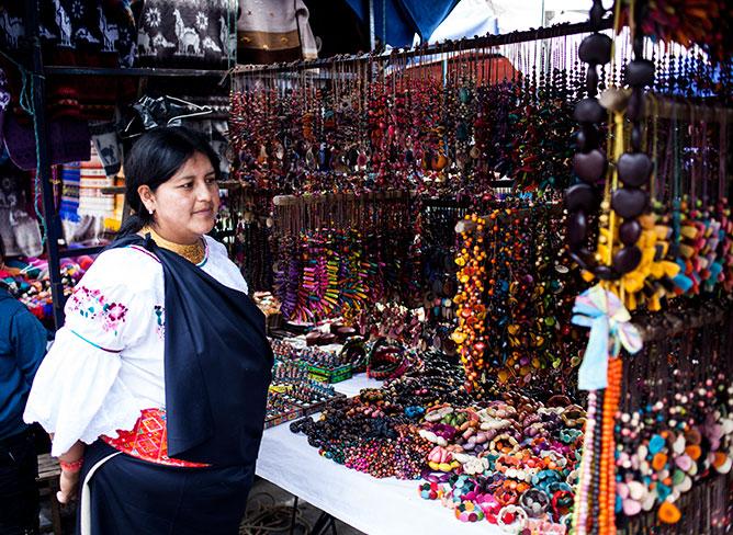 Artisan Marina in Ecuador