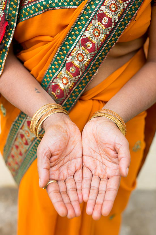 India hands