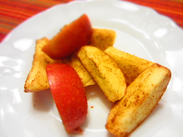 Fall Recipes Apple Cinnamon Snack